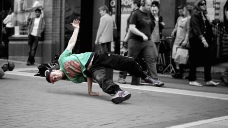 Street Performer: Grafton Street, Dublin