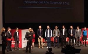 Entrega de premios Innovadores menores de 35 - EmTech Colombia 2015