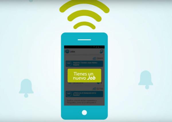 Mobijob, la app creada en Colombia para ganar dinero desde el smartphone