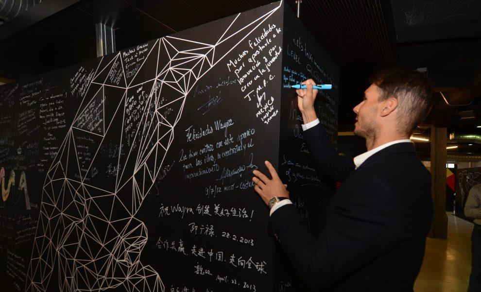 Rafael Nadal y Telefónica Open Future_ se unen para apoyara emprendedores tecnológicos