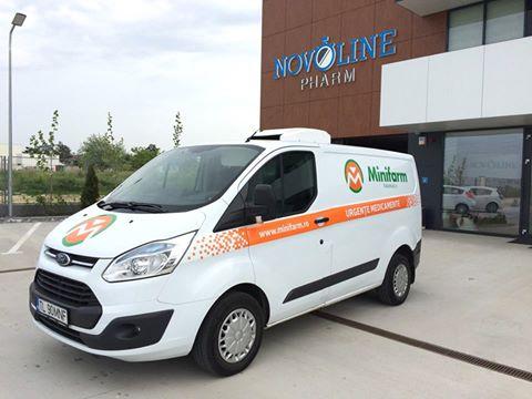 Branding flota auto Minifarm