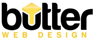 butter web design logo