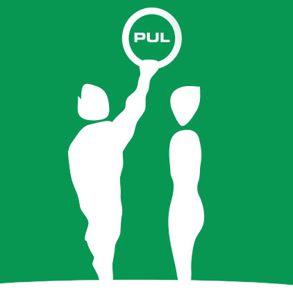 Peterborough Ultimate League PUL Logo