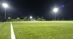 Turf and lights