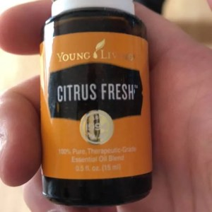 citrus fresh, essential oil, young living, non-toxic, smells good, fragrance