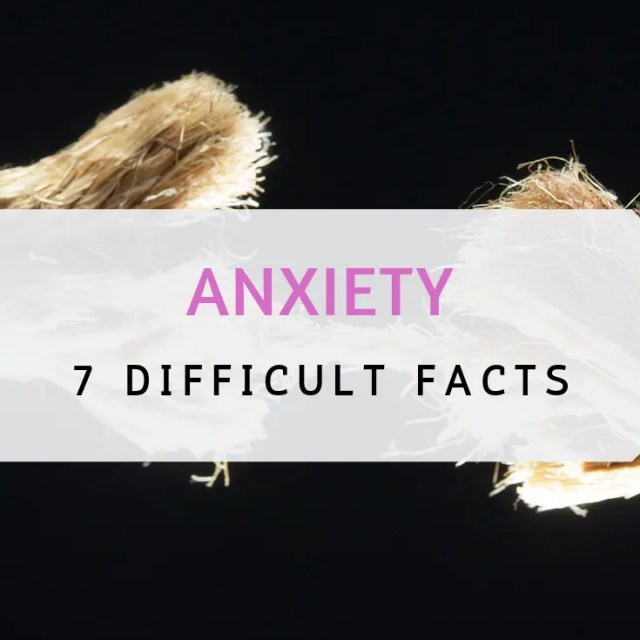 anxiety, facts about anxiety