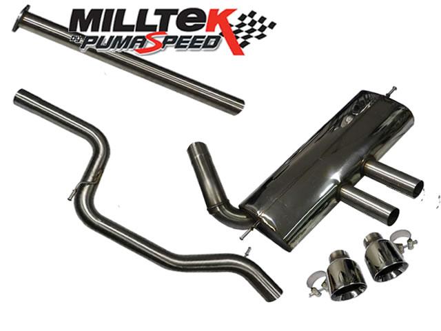 milltek sport focus st 250 cat back