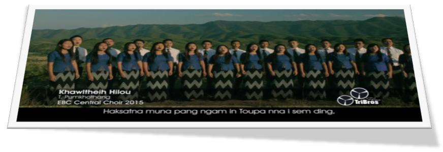 Khawl Theih Hilou - T. Pumkhothang