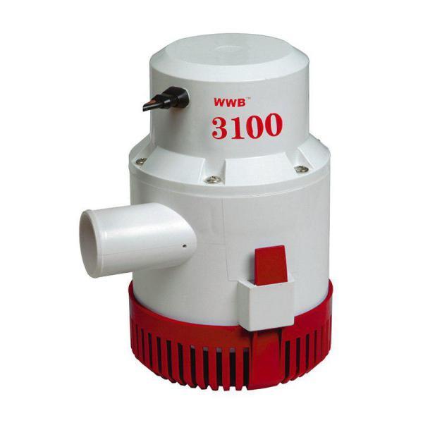 3100 GPH Bilge Pump 12V DC