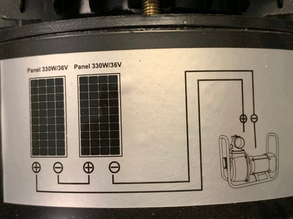 Solar Pump Engine Pump Gp 40 Panel