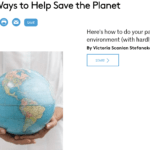 25 easy ways to help save the planet