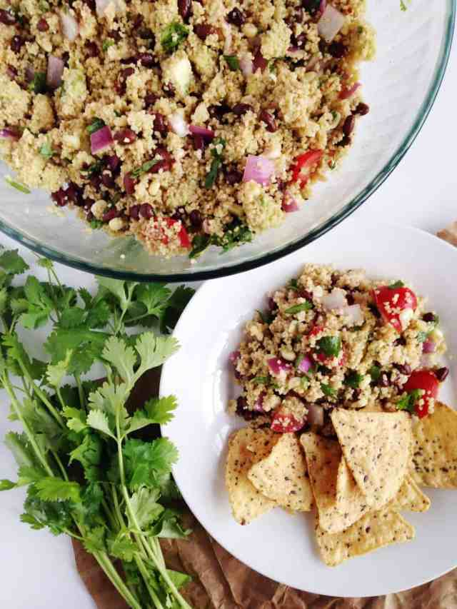 Texas Caviar Couscous