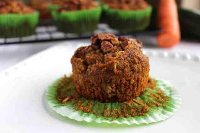 Carrot Cake Zucchini Muffins {pumpkin & peanut butter}