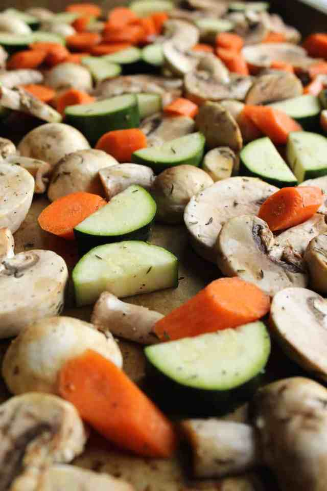 Spring Vegetable Shepherd's Pie // pumpkin & peanut butter