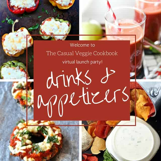 The Casual Veggie Drinks & Appetizer Party // pumpkin & peanut butter