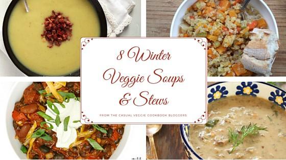 Winter Veggie Soups and Stews // pumpkin & peanut butter