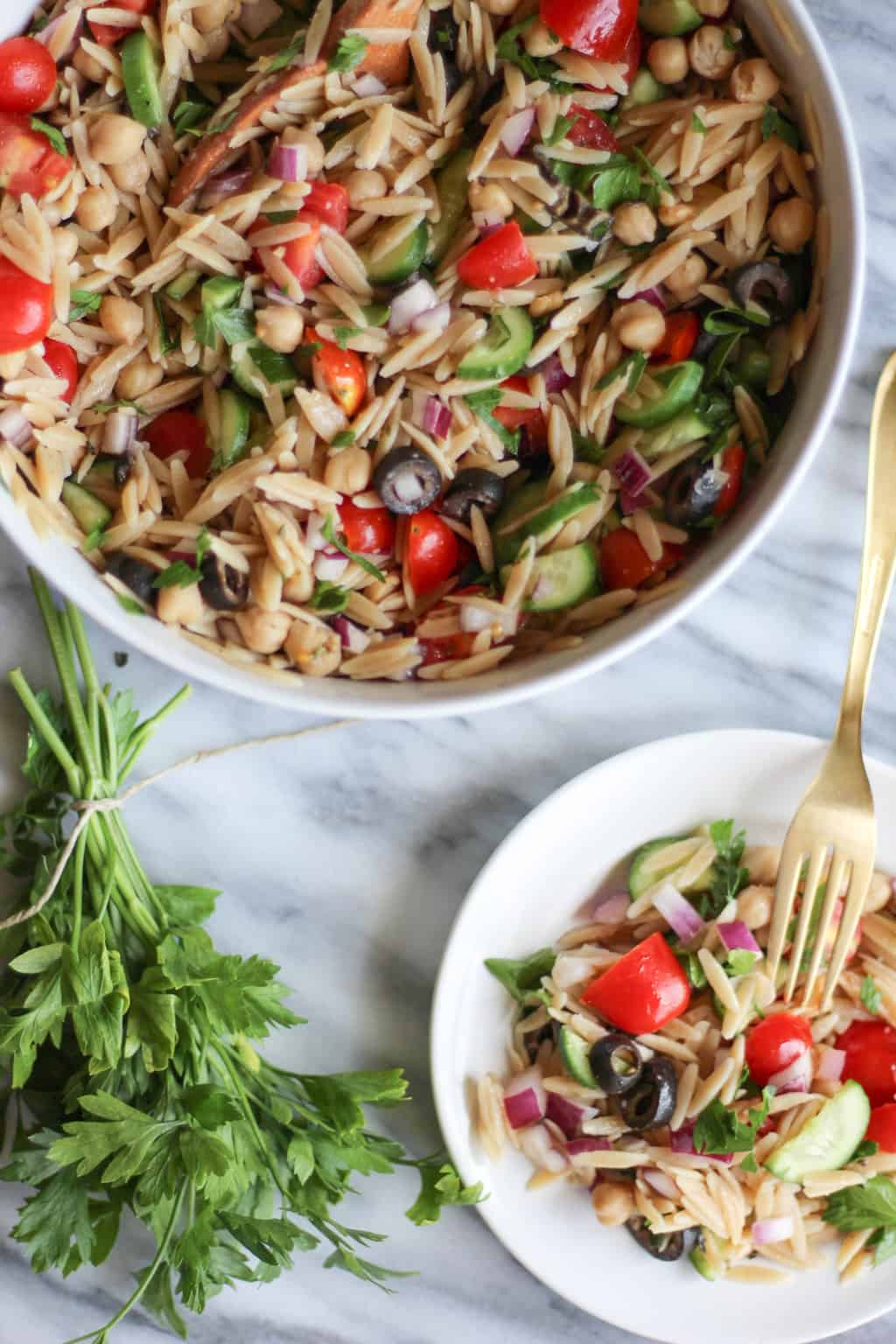 Fall pasta salad - So Here S To Starting This Beautiful Fall Week On A High Note And With A Delicious Fresh Easy Salad Not A Bad Combination