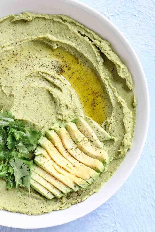 Avocado Cilantro Lime Dip | pumpkin & peanut butter