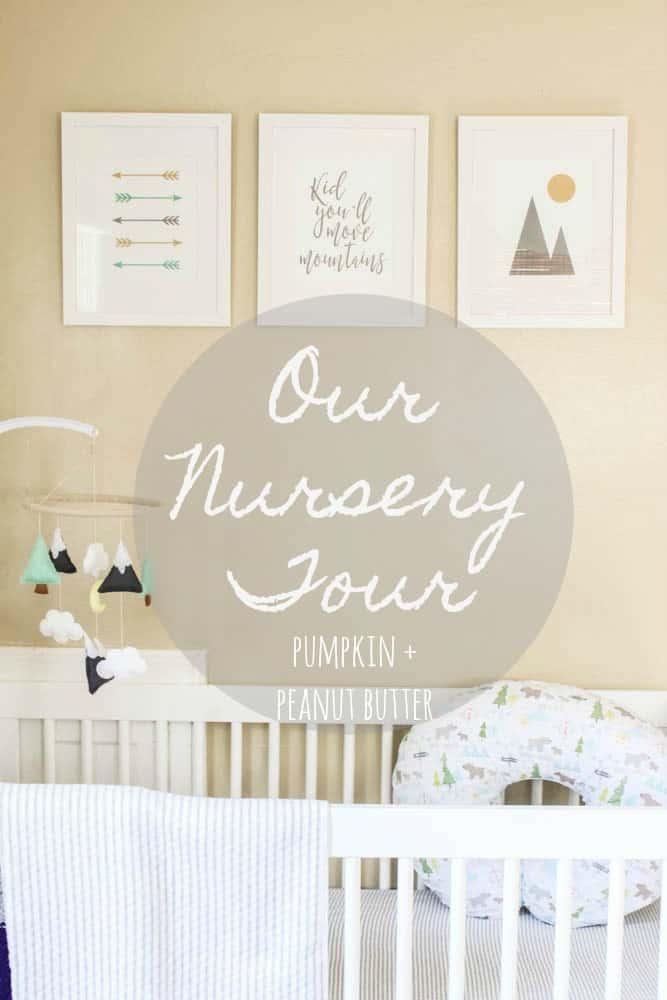 Our Nursery Tour + 37 Week Update