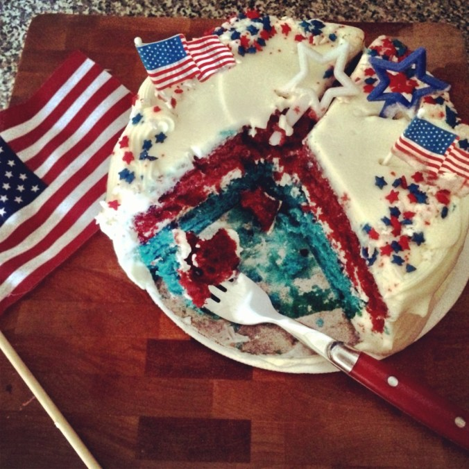sweet red white and blue