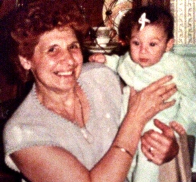 me and grams 1984