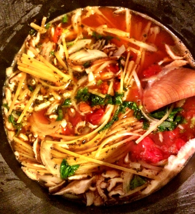 one pot pasta cooking 2