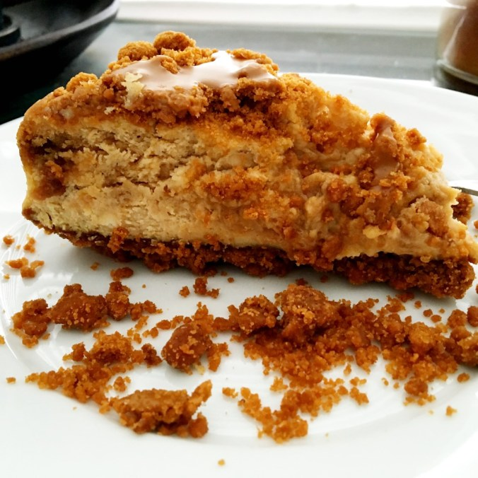 cookie butter cheesecake 3