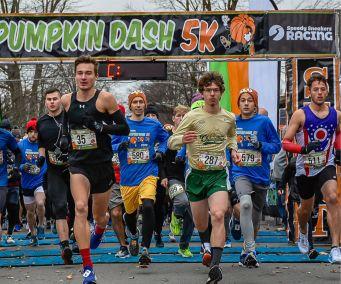 Start Pumpkin Dash 5k Marysville Ohio