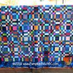 Renate's Scrap Quilt Blue