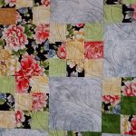 Nine Patches and Roses Detail 2