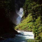 Bear Creek Falls Glacier NP BC