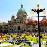 British Columbia Parliament Buildings Victoria BC
