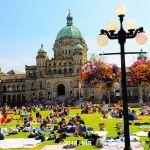 British Columbia Parliament Buildings Victoria BC