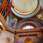 Inside British Columbia Parliament Buildings Victoria BC