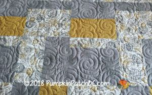 Japanese Improv Quilt Grey Detail 1
