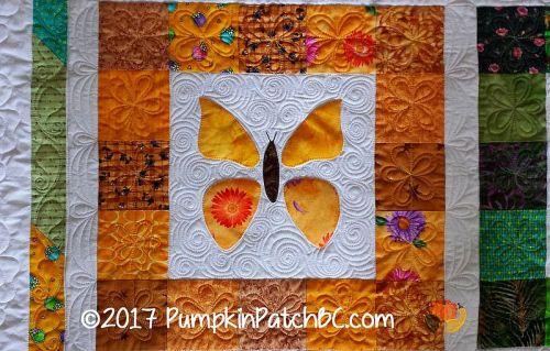 Rainbow Butterflies Block 2