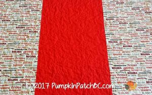 Quilts of Valour Maple Leaf Back