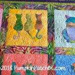 Colourful Cats Detail 1