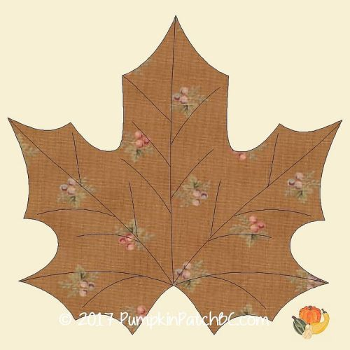 Maple Leaf Mug Rug