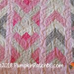 Princess Charlotte's Pink Daisies Detail 1