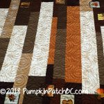 Reversible Strip Quilt Back