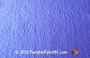 Scrap Quilt Purple Back