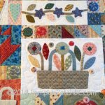 Sopwell Ladies Basket Society Quilt Detail 1