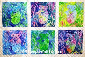Koala Quilt Detail 1