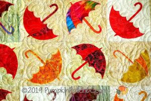 Dancing Umbrella Detail 1
