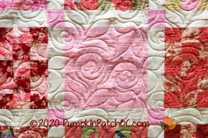 Checkerboard Roses Detail 2