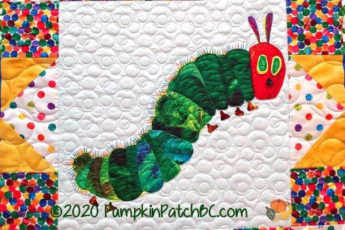 The Very Hungry Caterpillar Detail 1