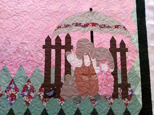Bunny Garden Detail 1