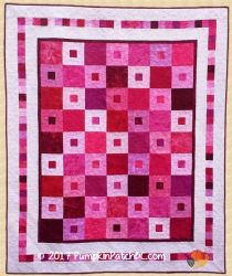 Coming Up Roses Quilt PPP019