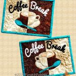 Coffee Break Mug Rugs PPP-039